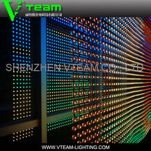 clearly visible concert + stage backlit soft led display