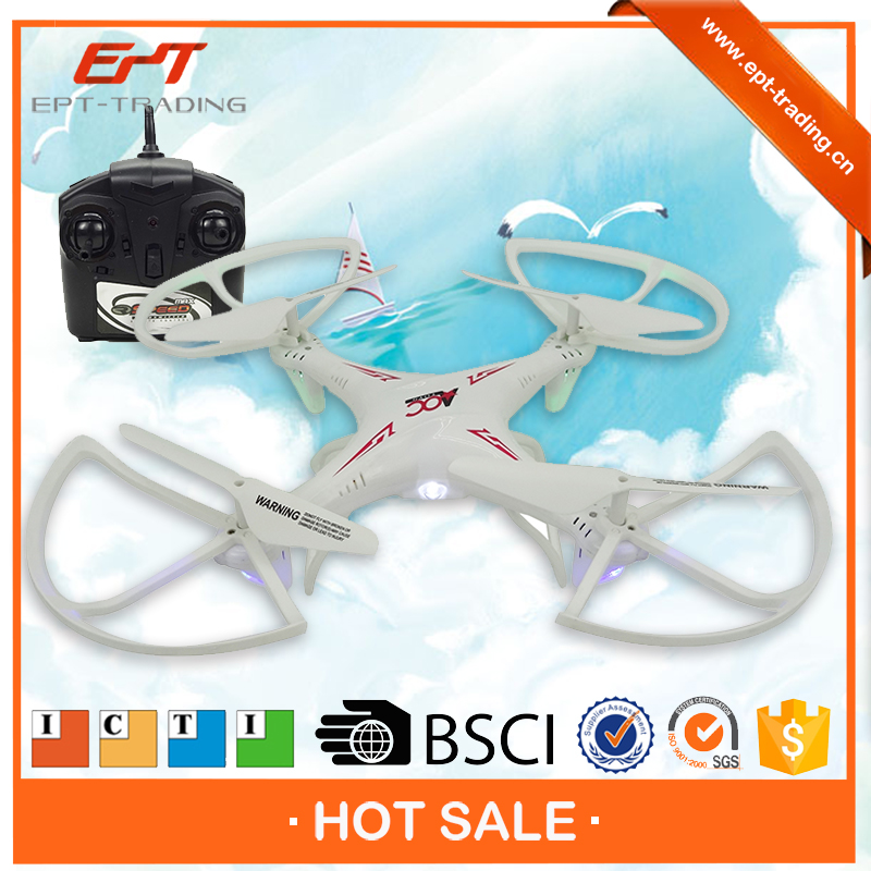 Top sale 2.4g rc quadcopter helicopter with 6 axis & usb charge