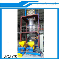 2 Screw / 3 Layer / ABA Film Blown Machine, PE Film Blowing Machine Price, ABA Coex Film Machine