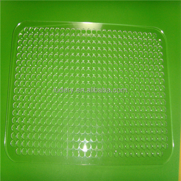acrylic led light guide panel lgp with laser dot