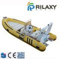 Rilaxy CE certificated 2.5m-10m China rib boat manufacturers