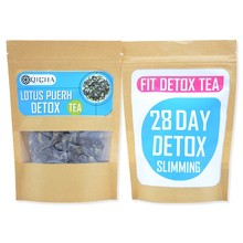 28 day detox tea custom private packing chinese weight loss tea