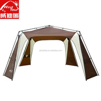 Portable And Easy Open Automatic Telescopic Pole Camping Tent For 8-12 People