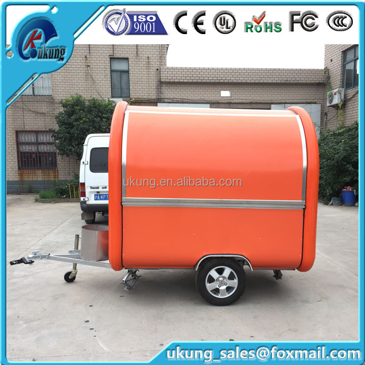 China suppliers hot selling products FT-165 food carts with additional food machines