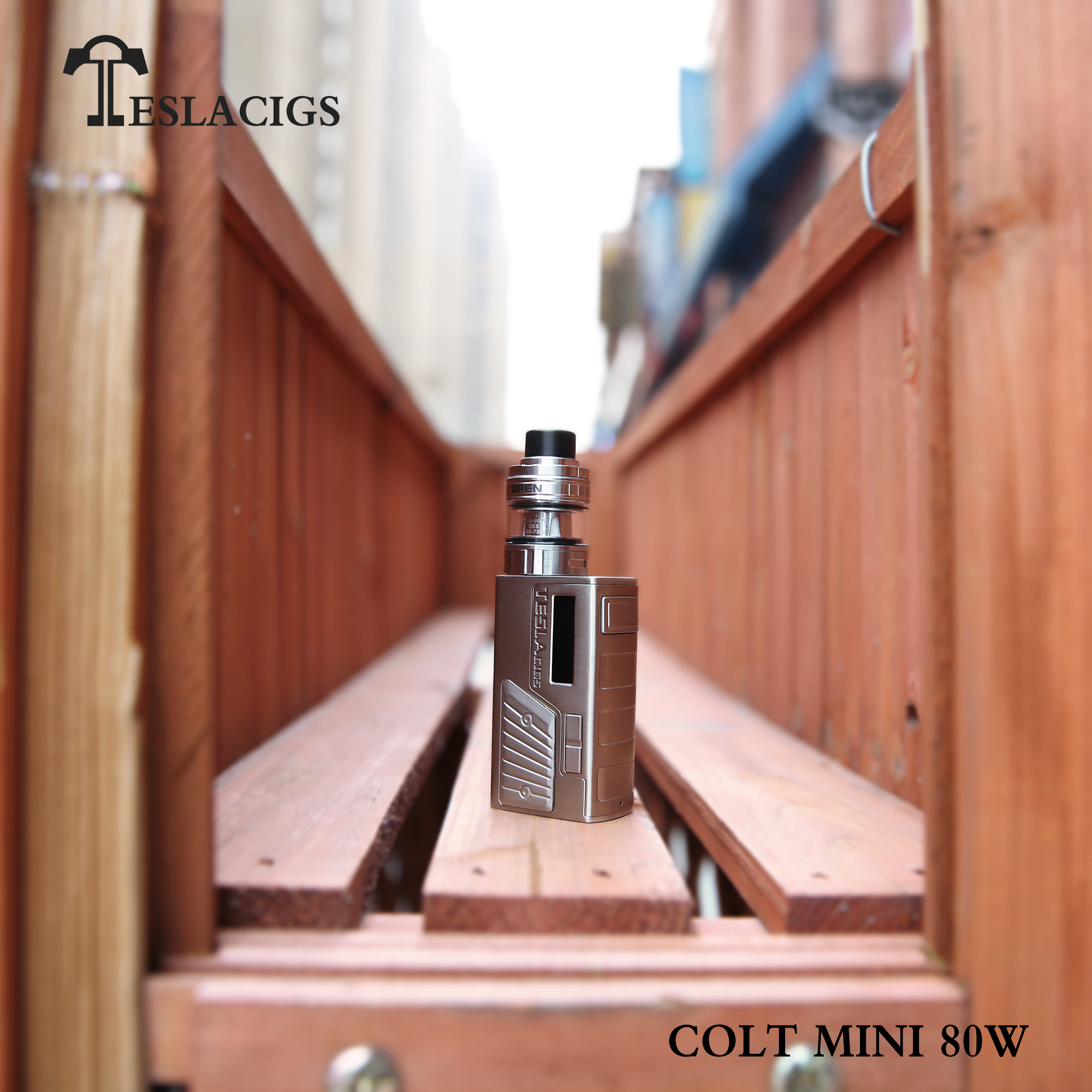 2018 Vape new fashion weathervane Teslacigs colt mini 80w mod