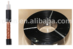 Copper wire rf feeder cable 1/4'' , 1/2'' , 7/8'' , 1-1/4'' , 1-5/8'' Flexible Annular Corrugated Coax Cable