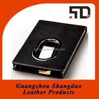 New Fashion Portable Business Name Card Case in Leather Cover