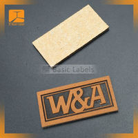 High Quality jeans pu leather label/leather patch/leather label for jeans