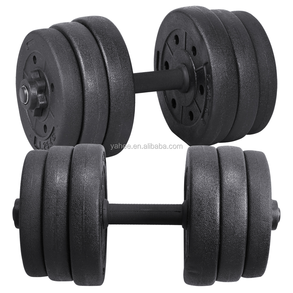 20kg Dumbbell Set Workout Weight Gym Triceps Fitness Exercise Strength