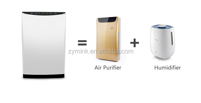 wholesale home activated carbon air purifier with air humidifier and aroma diffuser