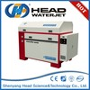 Water Jet Machine/ waterjet cutting machine with high pressure imported intensifier pump