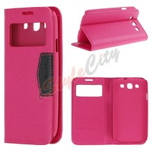 Wholesale For Samsung Galaxy S6 S5 S4 S3 Flip PU Leather Case