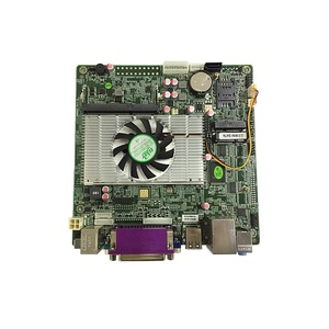 Fan Intel ATOM D425 Core 1.8GHz integrated peripherals GM3150 DirectX 9.0 AMIBIOS LVDS Motherboard for Mini PC