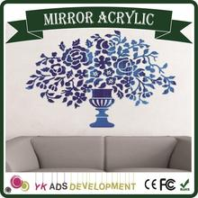 Factory Price High Quality mirror square meter price super thin glass mirror heat resistant mirror