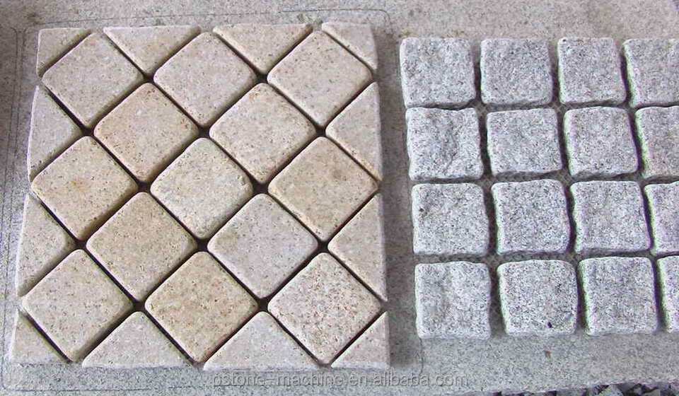 garden decoration natural granite stone pavement paving and stepping stone