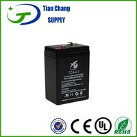 6v 4.5ah rechargeable battery for toys car use
