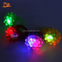Party flashing creative LED Jelly Bump Ring