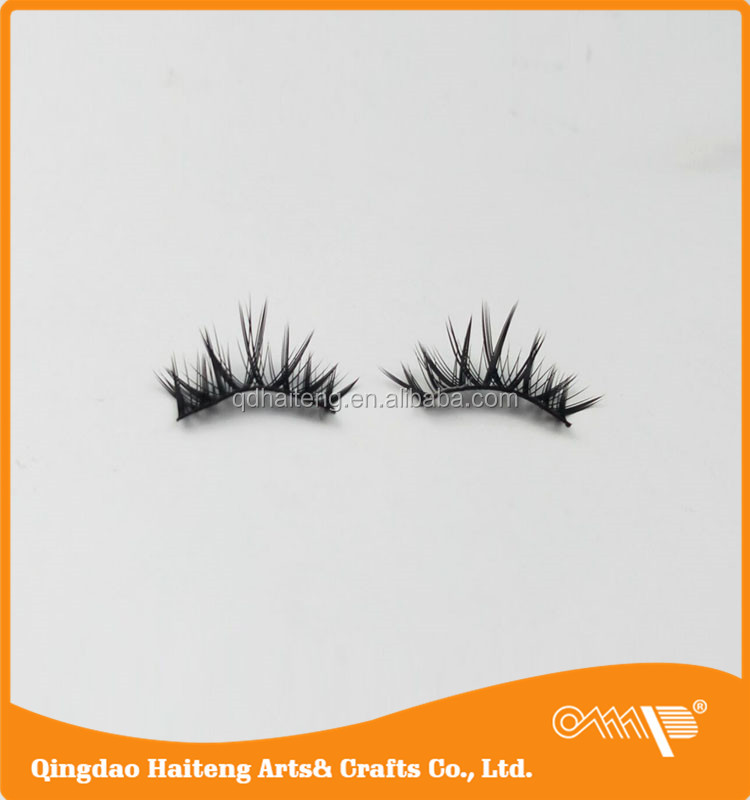 Party makeup party makeup beauty with synthetic fibre popularity strip cross eyelashes NO.7