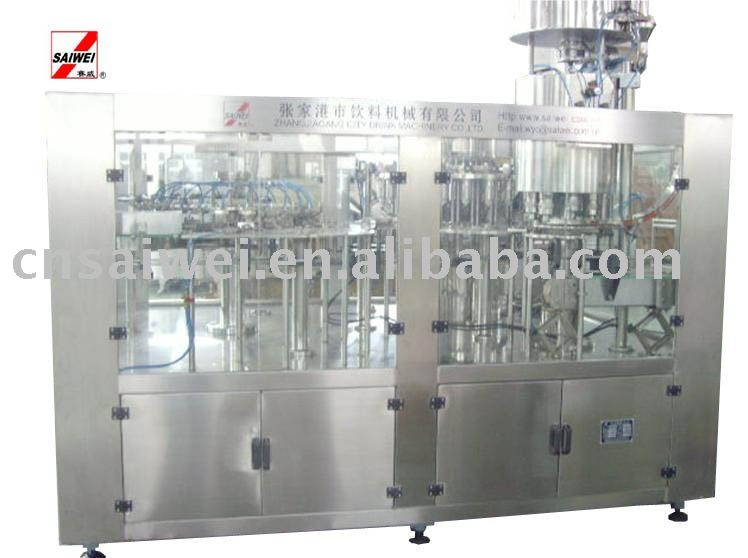 milk and juice production line