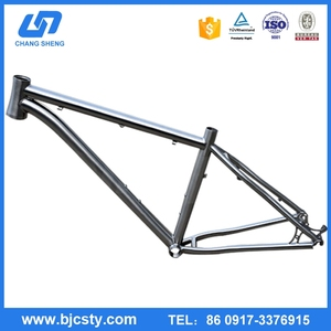 hot sale waltly titanium road bike frame customized with low price