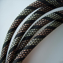 PET or nylon braided cable sleeve for electrical appliance