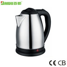 India & Pakistan Supplies Zhongshan Baidu Most favorable Price Anti Dry Stainless Steel Electric Kettle Teapot samovar