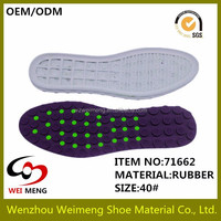New design fashion style rubber shoes outsole with multi colors looking for exclusive distritutor