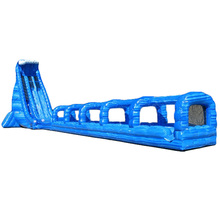36ft blue crush Giant inflatable water slide for adult/ big Inflatable waterslide for sale