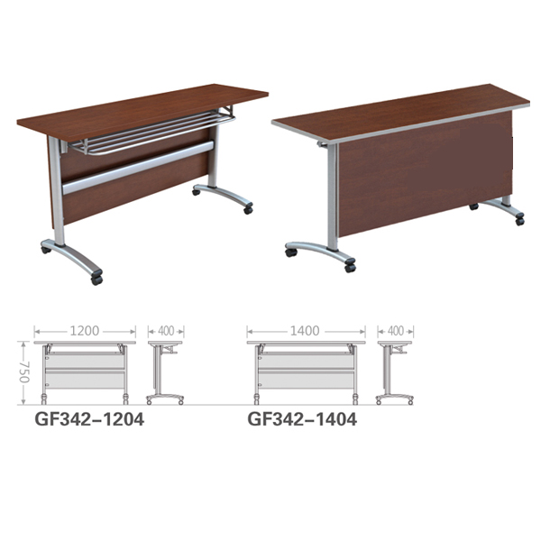 Folding Computer Desk Rectangular TableOffice Training Desk Outdoor - Portable conference table