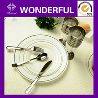 airline disposable plastic dinnerware sets
