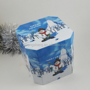 Popular Holiday Decoration Hot Selling Paper Wrapped Christmas Foam Ball