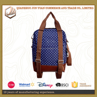 2016 Brand Fashion Laptop Backpack Printing canvas School Bags For Teenagers