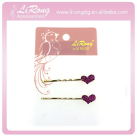 High quality hot sales fancy bobby pin with the decoration