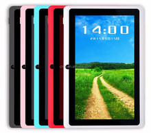 2017 best selling stock 7 inch android tablet pc with camera / wifi / GPS / buletoth / flash light , Cheap China andorid tablet
