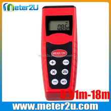laser measuring devices 18m electronic measure ultrasonic distance meter with laser pointer
