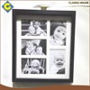 Cheap traditional black color lovely kids photo picture frame selling well in china