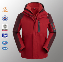 Made In China Outdoor Running 3 In 1 Ski Snow Jacket Men Winter Jacket
