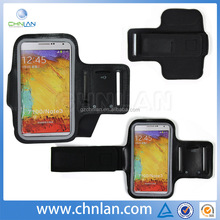 Waterproof Sport Armband Pouch Case For Samsung Galaxy Note 3 with Earphone Hole Key Pocket