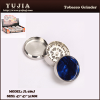 Yujia colorful abstract Style Smoking Accessories Novelty Herb Grinder wholesale JL-186J