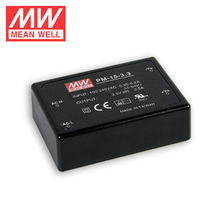 Single Output Switching Power Supply Open Frame Mean well PM-15-15 15W 15V 1A Ultra-miniature Power Supply