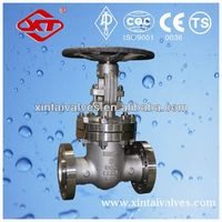 screw type rising stem gate valve carbon steel gate valve class150lb-2500lb stem