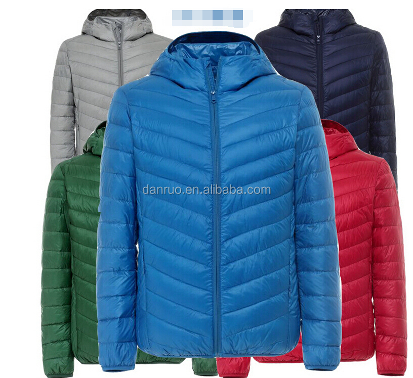 breathable windproof kids down jacket for winter