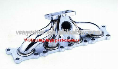 turbo stainless steel silver exhaust manifold for VW 1.8t CAR