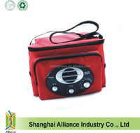 Radio speaker cooler bag with built in speakers(TM-CL-0100)