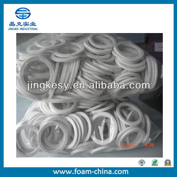 high density white round rubber gaskets manufacturer in shanghai ,china