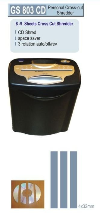 Gobbler Paper Shredders 8- Sheets Cross Cut shredders