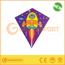 Hot Sales Various Promotion Outdoor toy plastic flying Kite