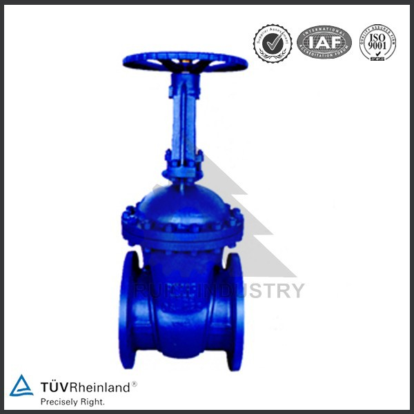 China supplier cast iron stem bellow sealed gate valve