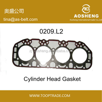 AOSHENG brand High quality, factory hot selling engine cylinder head gasket 0209.L2