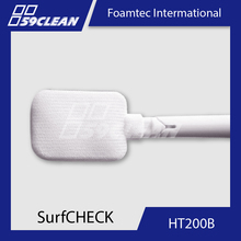 HT200B Cleaning Swabs Polyester Bud For Clean Room